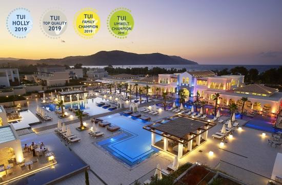 Τα 40 ελληνικά ξενοδοχεία που έλαβαν το TUI Family Champion για το 2019