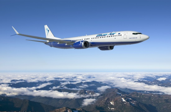 Blue Air: Επανέναρξη των πτήσεων από Αθήνα και Θεσσαλονίκη για Λάρνακα