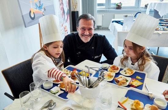 Παιδικό μενού στη Lufthansa
