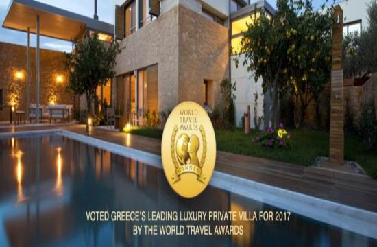 """Διεθνής διάκριση για το """"Conte Marino Luxury Villas"""""""