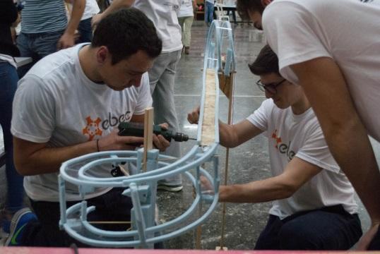 Φοιτητικός διαγωνισμός Μηχανικών EBEC Thessaloniki 2017