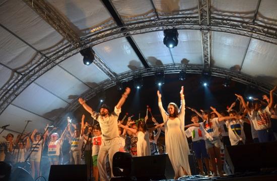 Θεαματική η τελετή έναρξης για το Matala Beach Festival 2017