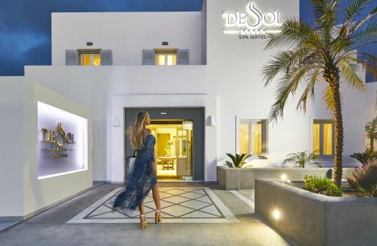Caldera Collection: Νέα προσθήκη το πολυτελές De Sol Spa Hotel στη Σαντορίνη