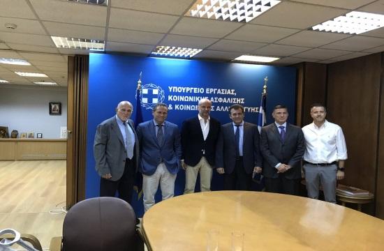 Συνάντηση ΣΕΤΕ- Υπουργείου Εργασίας για ασφαλιστικές εισφορές και εργασιακά