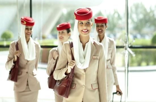 Emirates: «Open Day» σε Αθήνα και Θεσσαλονίκη για Πλήρωμα Θαλάμου