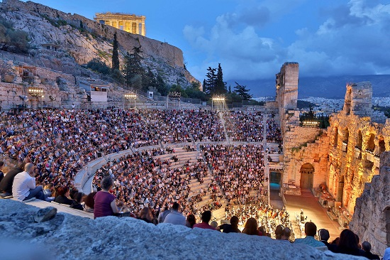 Ηρώδειο: ανεπανάληπτες καλοκαιρινές βραδιές κάτω από την Ακρόπολη