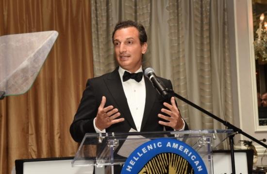 Το Ελληνικό Κολέγιο τιμά τον επιχειρηματία Γεώργιο Λογοθέτη της Libra Group