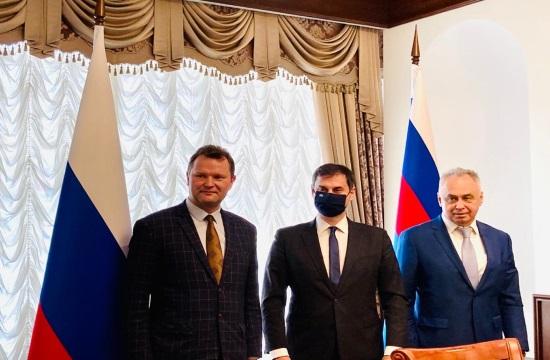 Χάρης Θεοχάρης: Από τη Ρωσία φεύγω μόνο με αισιόδοξα μηνύματα