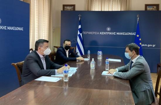 Ο κ.Θεοχάρης στη Θεσσαλονίκη: Στήριξη του τουρισμού της Βόρειας Ελλάδας
