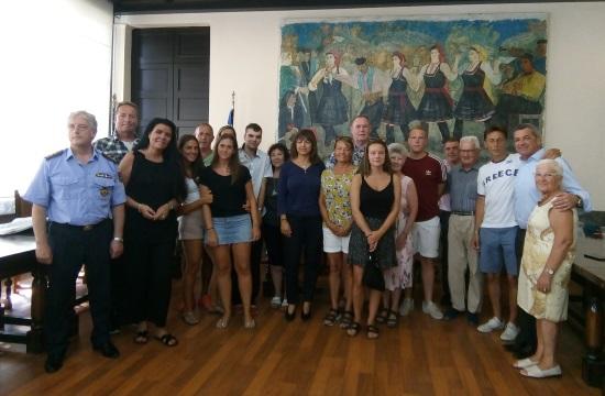 Ρόδος: Τιμητικές διακρίσεις σε ξένους φίλους του νησιού
