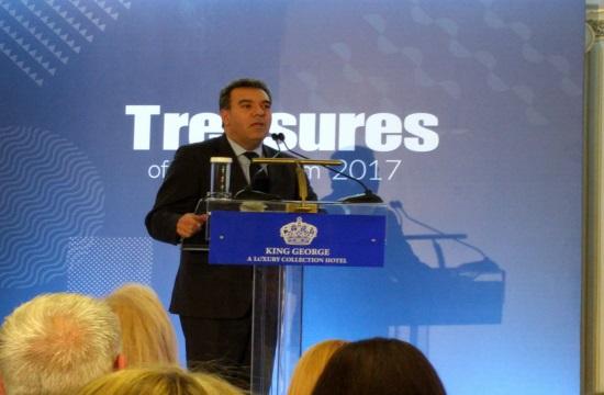 """Ποιες επιχειρήσεις τιμήθηκαν στα βραβεία  """"Treasures of Greek Tourism 2017""""."""