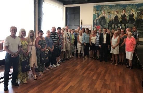 Τιμήθηκαν Δανοί, Γερμανοί και Άγγλοι φίλοι της Ρόδου
