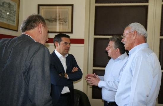 Τα αναπτυξιακά έργα της Κρήτης στη συνάντηση Αρναουτάκη με τον Πρωθυπουργό