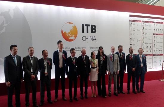 H Έλενα Κουντουρά εγκαινίασε την ΙΤΒ China- 50% περισσότεροι Κινέζοι στην Ελλάδα φέτος