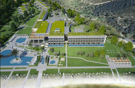 Άδεια δόμησης για το 5άστερο ξενοδοχείο στη Χαλκιδική της Μεντεκίδης Κατασκευαστική