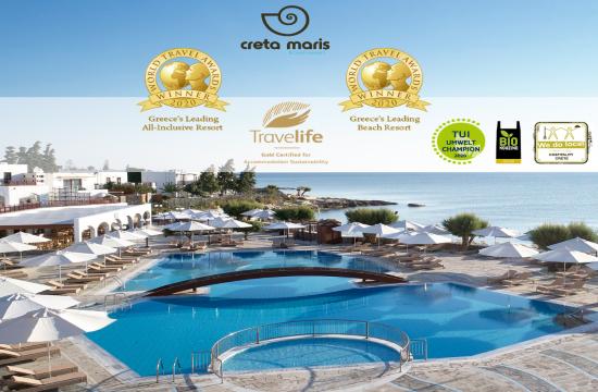 8 κορυφαίες διεθνείς διακρίσεις στα ξενοδοχεία του Metaxa Hospitality Group