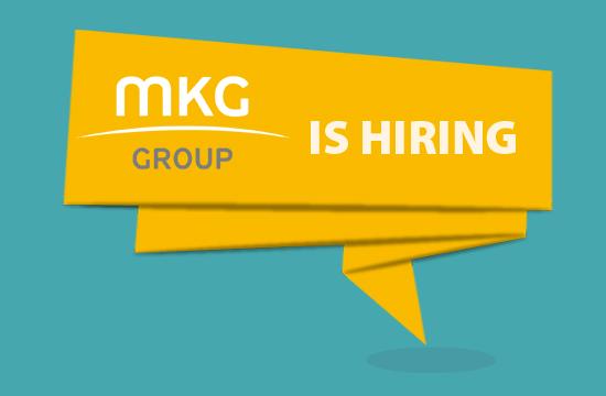 NEW JOB: Θέση εργασίας στην MKG Group