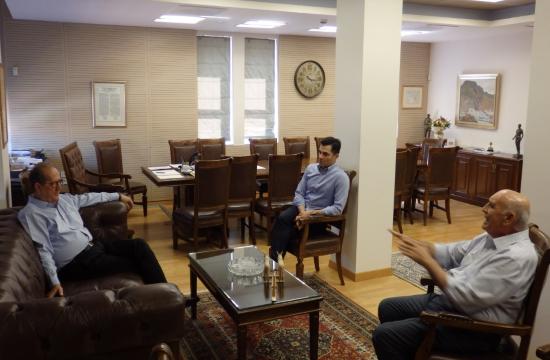 Ενημερωτική συνάντηση της Ε.Ξ. Μεσσηνίας με το νέο περιφερειάρχη Πελοποννήσου