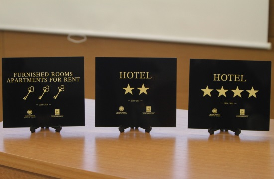 ΞΕΕ/ έρευνα: 4 και 5* το 42,3% των ελληνικών ξενοδοχείων το 2016