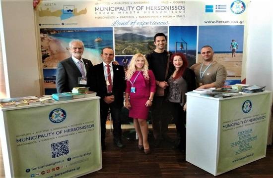 Δυναμική παρουσία του Δήμου Χερσονήσου στην GRECKA PANORAMA στην Πολωνία