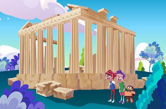 Το πρώτο animated video του ΕΟΤ που απευθύνεται σε παιδιά για να γνωρίσουν την Ελλάδα