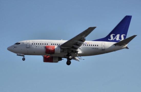 SAS: Nέες πτήσεις προς Αθήνα και Χανιά το 2018