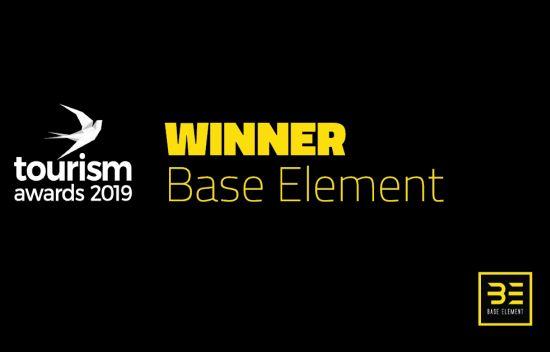 Σημαντική Διάκριση για την Base Element στα Tourism Awards 2019