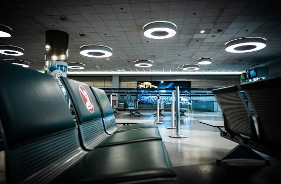 Αεροδρόμιο Αθήνας: 61,6% κάτω από τα επίπεδα του 2019 η επιβατική κίνηση το οκτάμηνο
