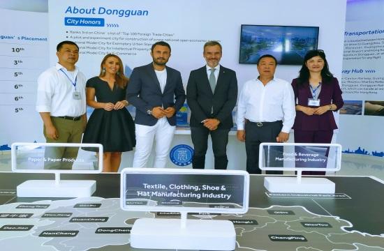 Η Θεσσαλονίκη πύλη  για τις εξαγωγές της Dong Guan στην ΝΑ Ευρώπη
