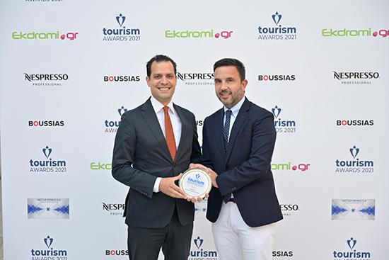 Όμιλος HotelBrain: Ο μεγάλος νικητής των Tourism Awards 21'