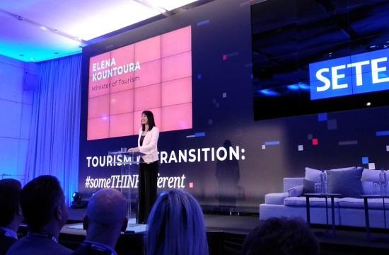Η Ε.Κουντουρά στο συνέδριο του ΣΕΤΕ: Πώς προωθείται η ψηφιακή μετάβαση του ελληνικού τουρισμού