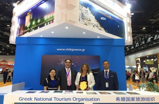 ΕΟΤ: Μεγάλη αύξηση Κινέζων τουριστών στην Ελλάδα φέτος