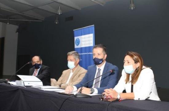 Ο κ.Τάσιος στη συνέλευση της ΠΟΞ: Η ρευστότητα ζήτημα ζωής ή ξαφνικού θανάτου για τα ξενοδοχεία
