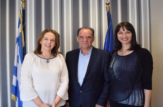 Συνάντηση Ε.Κουντουρά με τον δήμαρχο Ζαγοράς