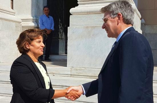 Περιφέρεια Β. Αιγαίου: Συνάντηση με τον αμερικανό πρέσβη για τουρισμό και εμπόριο