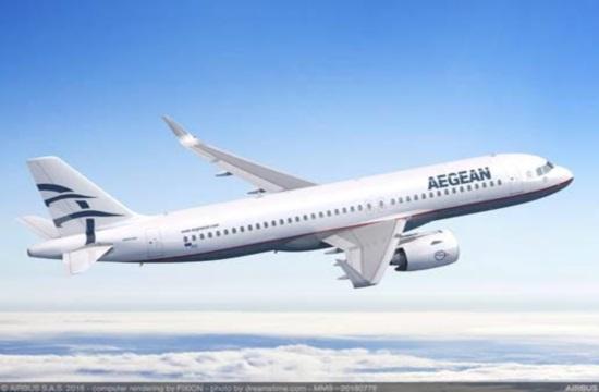 H Aegean διαμορφώνει εκ νέου το θερινό πρόγραμμα πτήσεων στο εσωτερικό και εξωτερικό