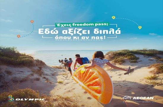 Πώς οι νέοι θα αξιοποιήσουν το Freedom Pass μέσω της Aegean