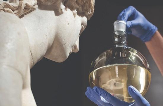 Άγνωστο άγαλμα της Αφροδίτης εκτίθεται στο Εθνικό Αρχαιολογικό Μουσείο με αρώματα της αρχαιότητας