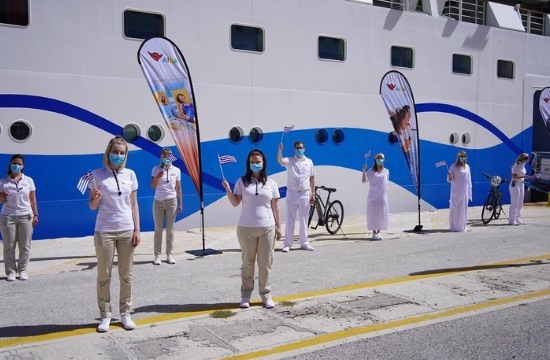 AIDA Cruises: Ξεκίνησαν οι κρουαζιέρες του AIDAblu στην Ελλάδα