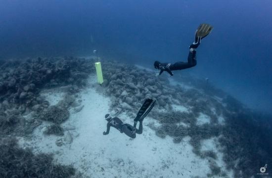 Ελεύθερη κατάδυση στο αρχαίο ναυάγιο της Περιστέρας Αλοννήσου