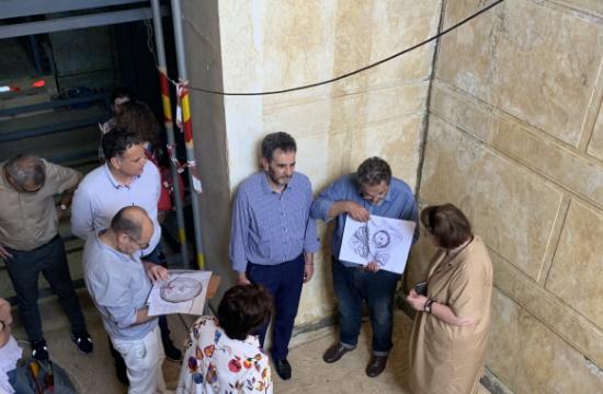 Προστασία του ταφικού μνημείου της Αμφίπολης