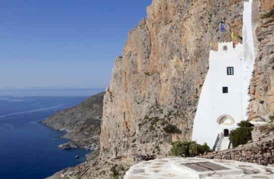 Αμοργός: Ένα από τα πιο εντυπωσιακά μοναστήρια των Κυκλάδων