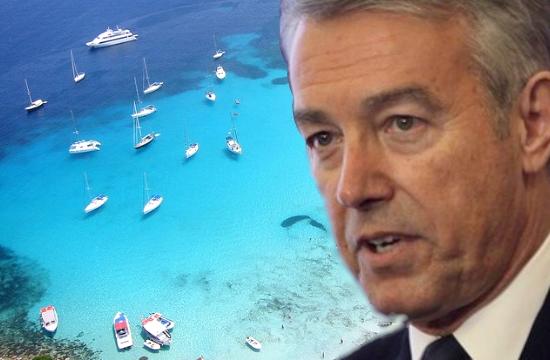 Α.Ανδρεάδης: +9% τα τουριστικά έσοδα φέτος, υπό ομαλές καταστάσεις