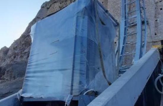 Στην τελική φάση ο ανελκυστήρας πλαγιάς στην Ακρόπολη