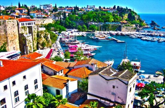 Τουρκικός τουρισμός: 31% περισσότεροι τουρίστες τον Ιανουάριο στην Αττάλεια