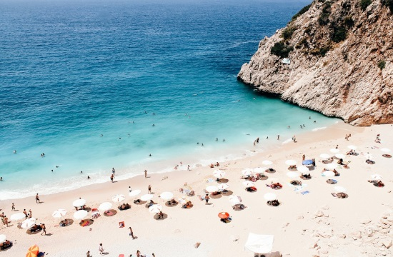 1η η Τουρκία σε αύξηση τουριστικών εσόδων το 2017 - 10η η Ελλάδα
