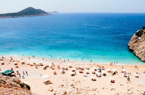 Tουρκία: Αφίξεις 1 εκατ. ξένων τουριστών στο διάστημα Ιανουαρίου-Φεβρουαρίου - Πίνακας