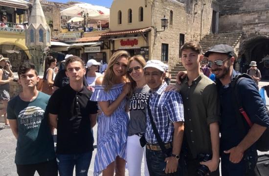 Η Ρόδος μέσα από το φακό της τηλεόρασης του Ισραήλ