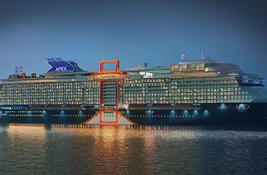Celebrity Cruises: Παγκόσμιο ντεμπούτο από την Ελλάδα για το ολοκαίνουργιο Celebrity Apex στις 19 Ιουνίου