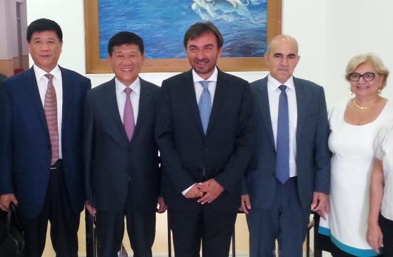 Συνεργασία της Κρήτης με την περιοχή Χαϊνάν της Κίνας στον τουρισμό